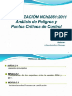 CURSO ACTUALIZACIÓN NCh2861
