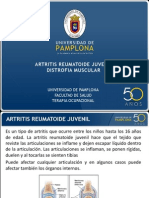 Artritis idea Juvenil y Distrofia Muscular
