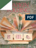 Napkin Folding_Gay Merrill Gross