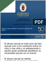 Abuso Sexual Infantil desde terapia ocupacional