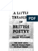 Williams Little Treasury of British Poetry 1951