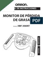 111102 Manual Omron HBF-306 Monitor de Grasa