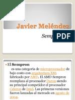 Javier Meléndez 8-858-2097 Sempron