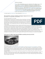 Analyses of Mercedes Benz Marketing Strategies