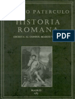 Veleyo Paterculo - Historia Romana