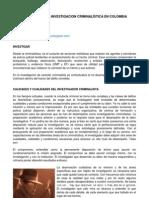Investigador y Investigacion Criminal is Tic A Colombia