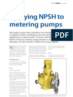 Applying NPSH to Metering Pumps