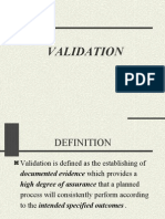 Validation 1