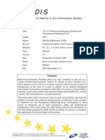 Fidis-wp7-Del7.12 Behavioural-biometric Profiling and Transparency Enhancing Tools
