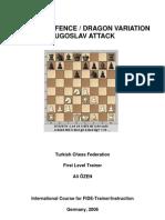 Dragon Sicillian Intro Ali OZEN_Tur_FIDE TRAINER ACADEMY