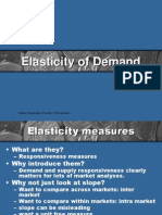 Chap 3-Elasticity of Demand