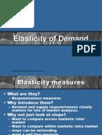 Chap 3-Elasticity of Demand