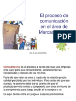 Proceso de Comunicación Y Marketing