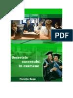 Secretele Succesului in Examene