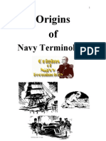 Origin of Navy Terminologies