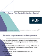 Module_2 Informal Risk Capital & Venture Capital