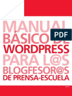 Guía blogs Prensa-Escuela Wordpress