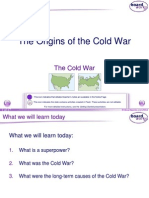 1. the Origins of the Cold War