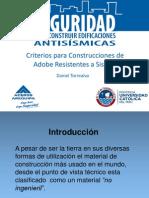 Adobe Con Geomalla Aceros Arequipa