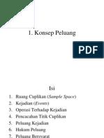 I. Konsep Peluang
