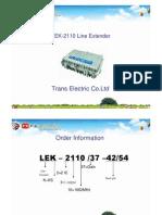 Lek2110 Training