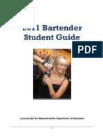 Bar Tending Manual 2011