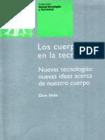 Ihde, Don - Los Cuerpos en La Tecnologia Uoc