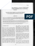 Chemical Characterization of Nitrided