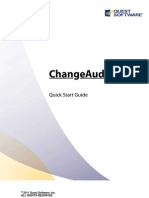 Change Auditor Quick Start