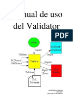 Manual de Uso Del Validator