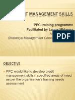 PPC Credit Management Skills