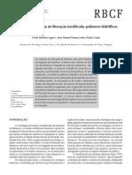 Formas farmacêuticas de liberação modificada - polímeros hidrifílicos