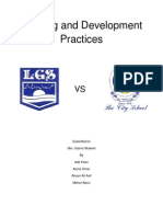 Training and Development Practices