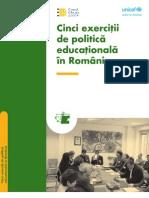 Cinci_exercitii_politica Educ in Romania