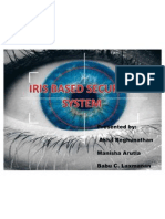 IRIS Based Security System_ppt