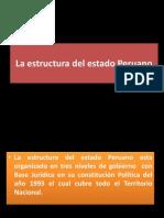 La Estructura Del Estado Peruano Clase 5 Socilogia