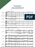 Rachmaninov - Piano Concerto No 3 (Full Score), I 1