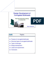 PPT 3.2 Design Development of Corrugated Bulkheads(0)