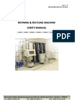 Refining Recycling Machine