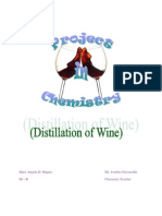 Distillation of Wine
