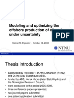 2008 Modeling and optimizing the offshore production of oil and gas under uncertainty