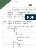 IMAGE Processing - Hand Written - Sujata Pudale Print