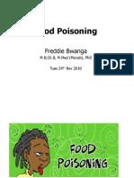 Food Poisoning LectV2 for Med Students