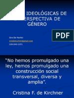 Raices ideológicas de la perspectiva de genero