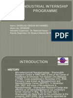 Industrial Internship Programme