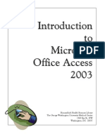 39809001 Microsoft Office Access 2003
