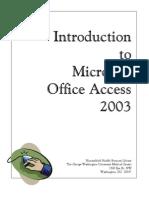 39809001 Microsoft Office Access 2003