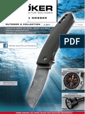 Knifemaking Kit Bausatz für ein Taschenmesser mit rostfreier Klinge 11,7 cm