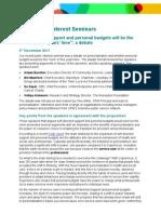 Personalisation seminar report