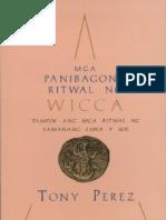 Mga gong Ritwal Ng Wicca